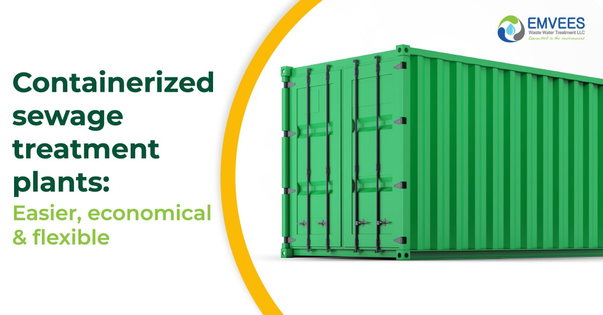 Containerized Wastewater Treatment Plant